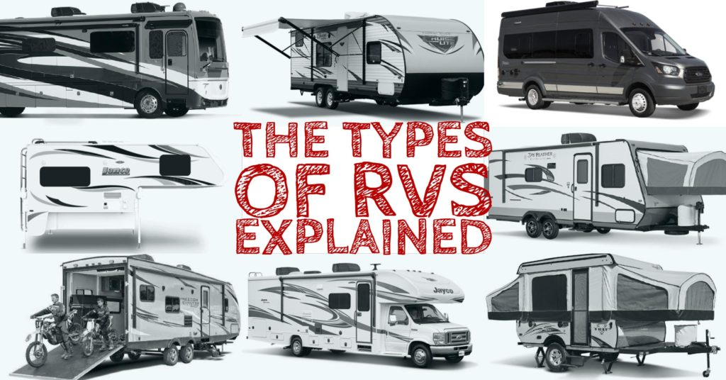 The Different Types of RVs Explained | RV Miles
