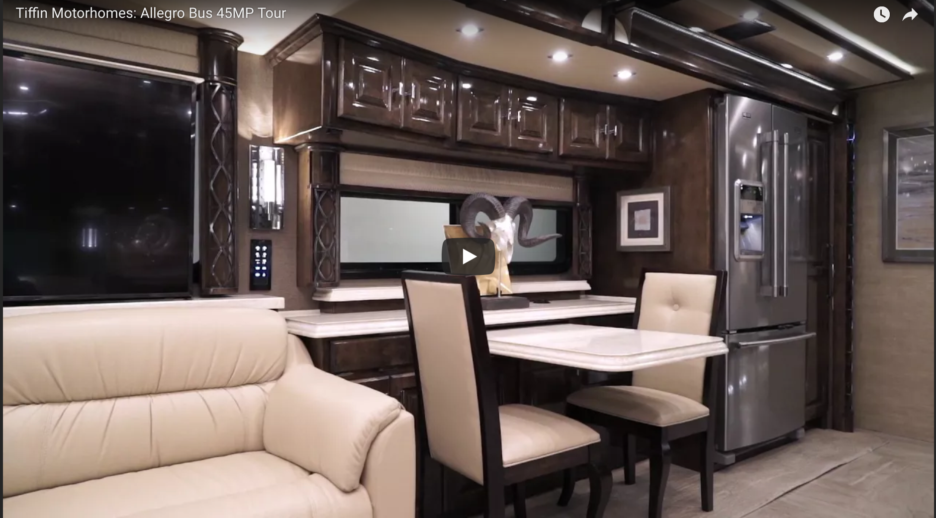 Stunning Video Tour of the Tiffin Allegro Bus 45MP RV Interior | RV